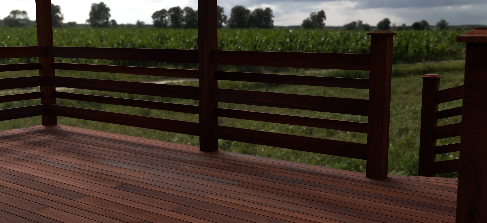 Deck and Fence 1